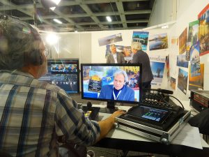 blue vision media auf der ITB